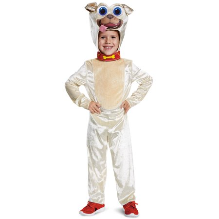 Xxs Puppy Halloween Costumes (Puppy dog pals rolly classic child halloween costume S)