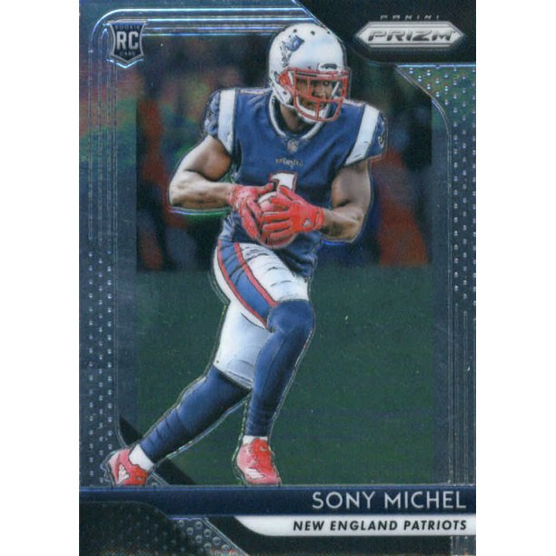 jersey sony michel 2018 panini father's day rookie