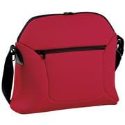Peg Perego Borsa Soft Diaper Bag - Flamenco - Cherry Red / Black