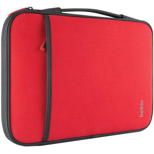 "BELKIN B2B064-C02 13"" Notebook/Chromebook Sleeve (Red)"