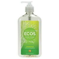 Earth Friendly Products Organic Lemongrass Hand Soap 17fl.oz.223408 2 PACK OC