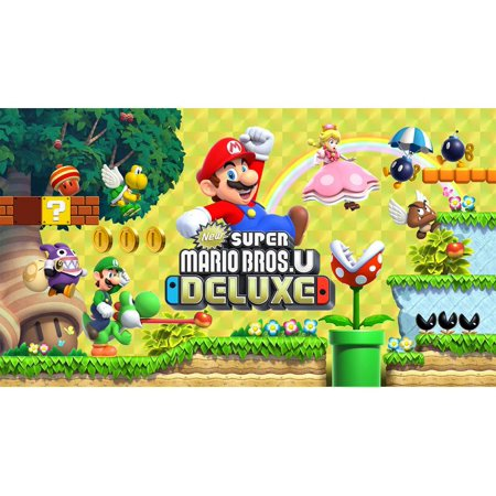 New Super Mario Bros U Deluxe, Nintendo, Nintendo Switch, 045496592714 (Digital Download)](Princess Peach Mario Bros)