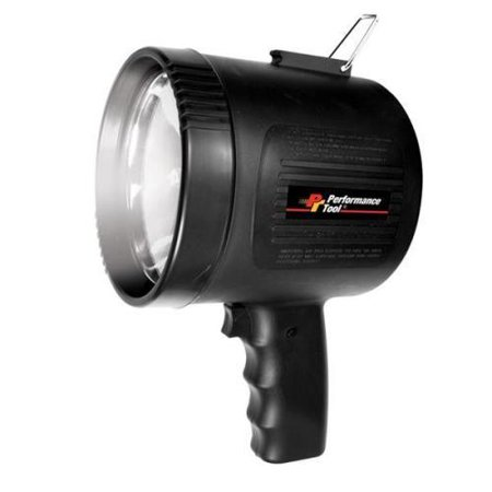 Performance Tool Million Candlepower Spotlight Black