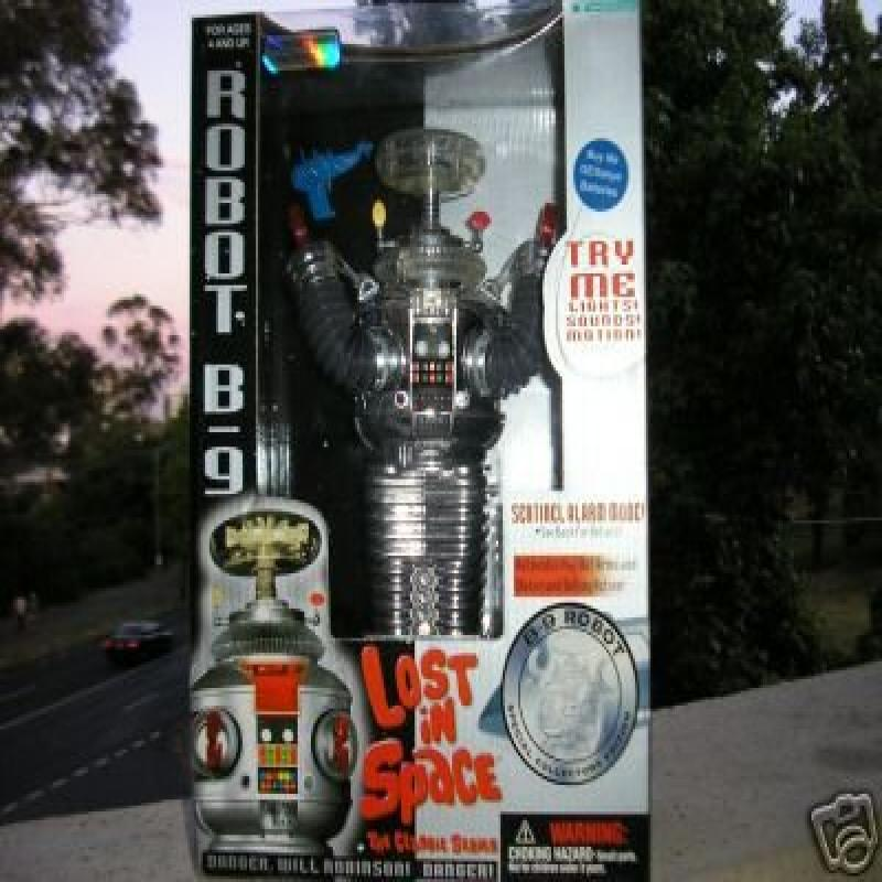 Lost in Space Chrome Robot B 9