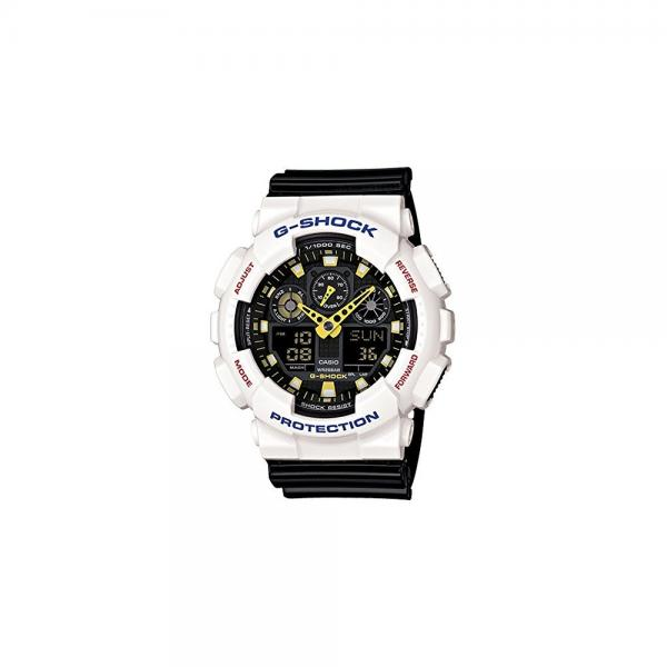 Casio G Shock Analog Digital Dial Black Resin Mens Watch ...