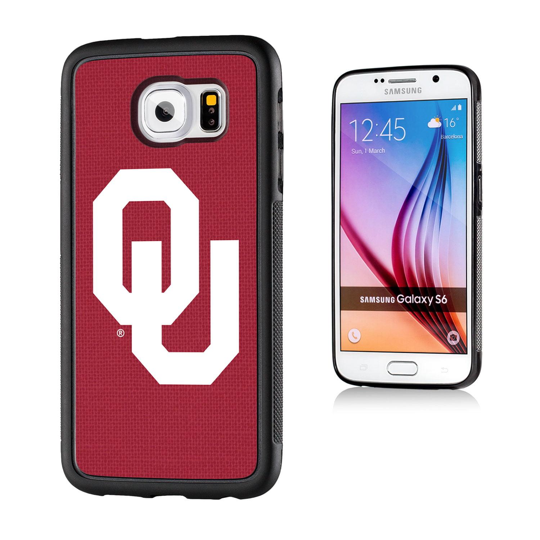 Oklahoma Sooners Solid Galaxy S6 Bumper Case