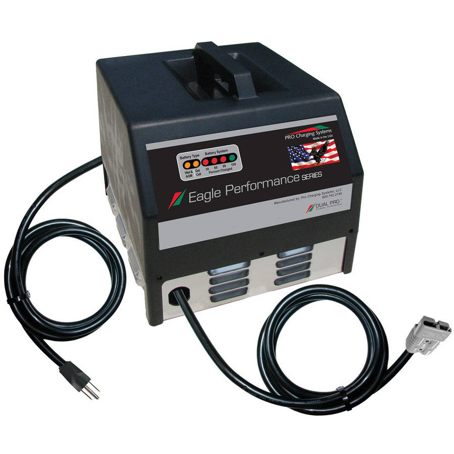 Eagle Performance Series Portable 48V 15A Battery Charger