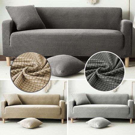 Three Seater Waterproof Dust-proof Sofa Knitted Cover Knitted Stretch Full Sofa
