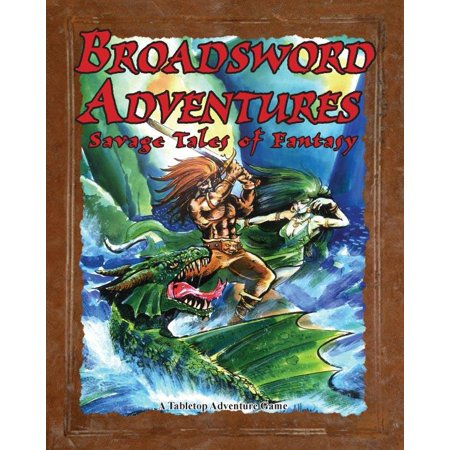 Wooden Broadsword - Broadsword Adventures - Savage Tales of Fantasy New