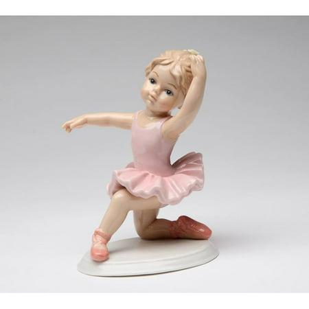 Cosmos Gifts Ballerina Knee Down Figurine