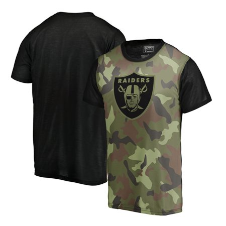 Oakland Raiders NFL Pro Line by Fanatics Branded Blast Sublimated T-Shirt -