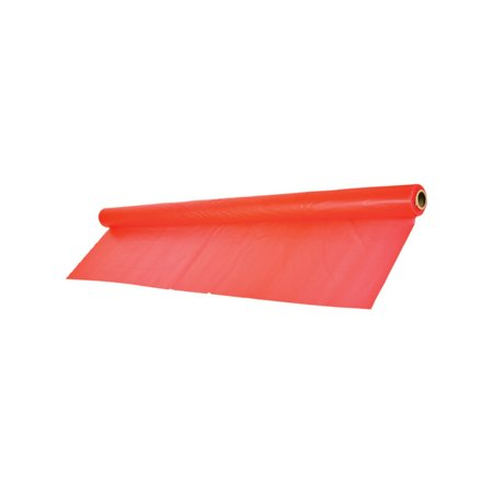 Giant Red Birthday Halloween Party Decoration Plastic Table Cloth Cover Roll