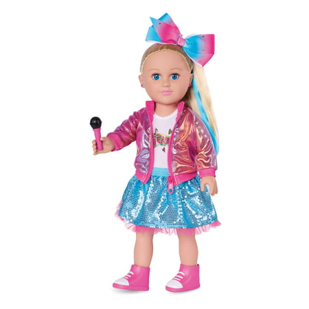 My Life As JoJo Siwa Doll, 18-inch Soft Torso Doll with Blonde Hair, Dance Party 2019 Release