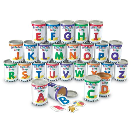 Learning Resources Alphabet Soup Sorters, Fine Motor Toy, 208 Pieces