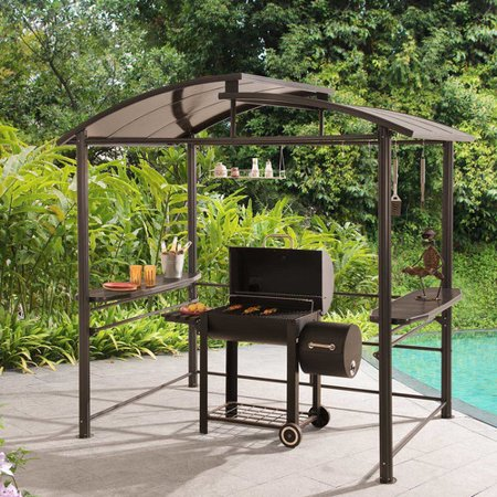Sunjoy 76 X 5 Ft Denver Grill Gazebo