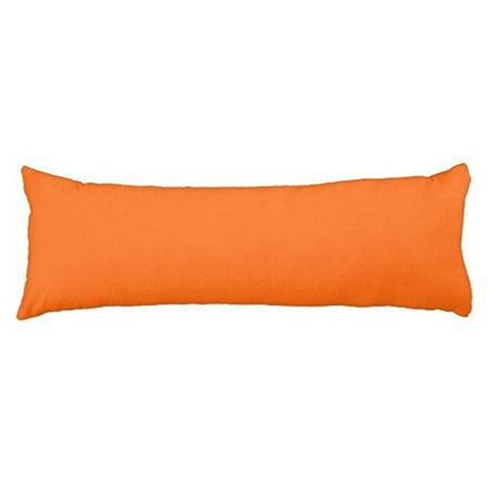Walmart Body Pillow Cover Impressive Wendana Decorative Orange Body Pillow CoverPink Eometric Body