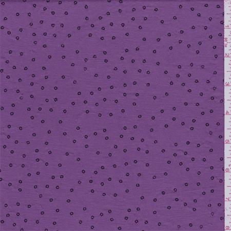 Fuschia Sequin (Fuschia Pink Sequin Jersey Knit, Fabric Sold By the Yard)