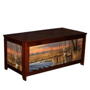 Kelsey's Collection 502MIL65212 Lodge Box Daybreak Whittails