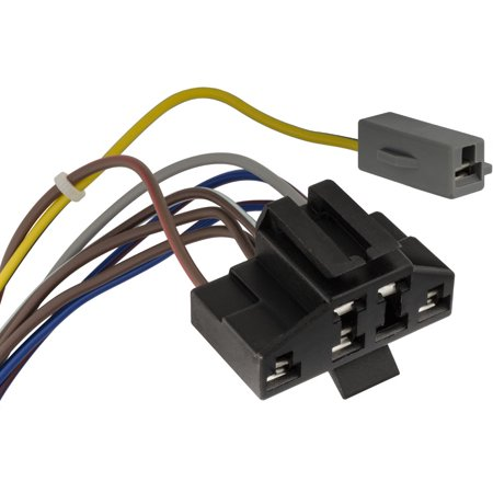 Clipsandfasteners Inc Compatible with Ford EEC IV Test Plug Repair Harness  Connector