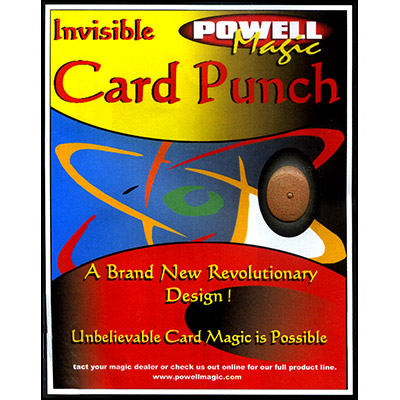 Invisible Card Punch by Dave Powell Trick by