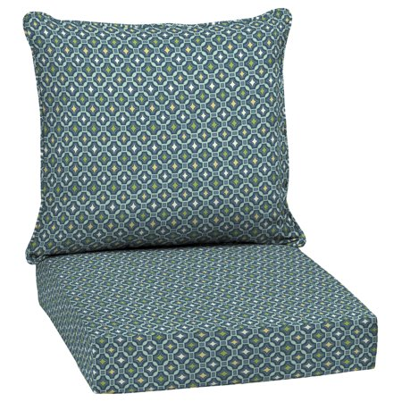 Arden Selections Alana Tile 46.5 x 24 in. Outdoor Deep Seat Cushion Set ()