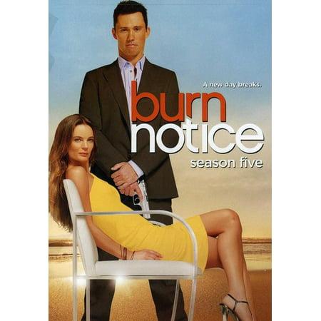 Burn Notice: Season 5 (DVD) (Best Burn Notice Episodes)