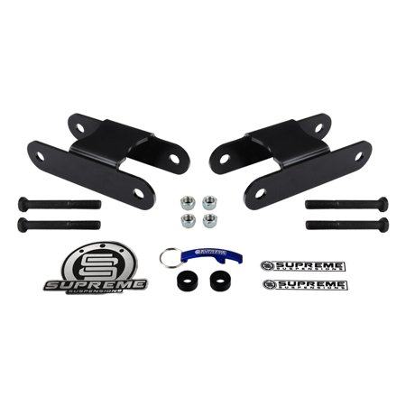 Front Lift Shackles (Supreme Suspensions - Chevy S-10 + GMC S-15 2