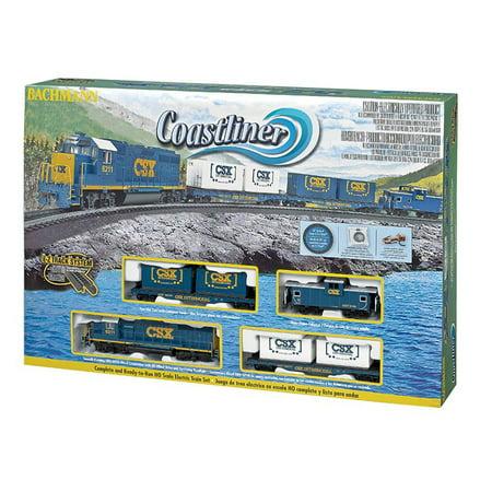 Bachmann Trains HO Scale Coastliner Ready To Run Electric Train Set