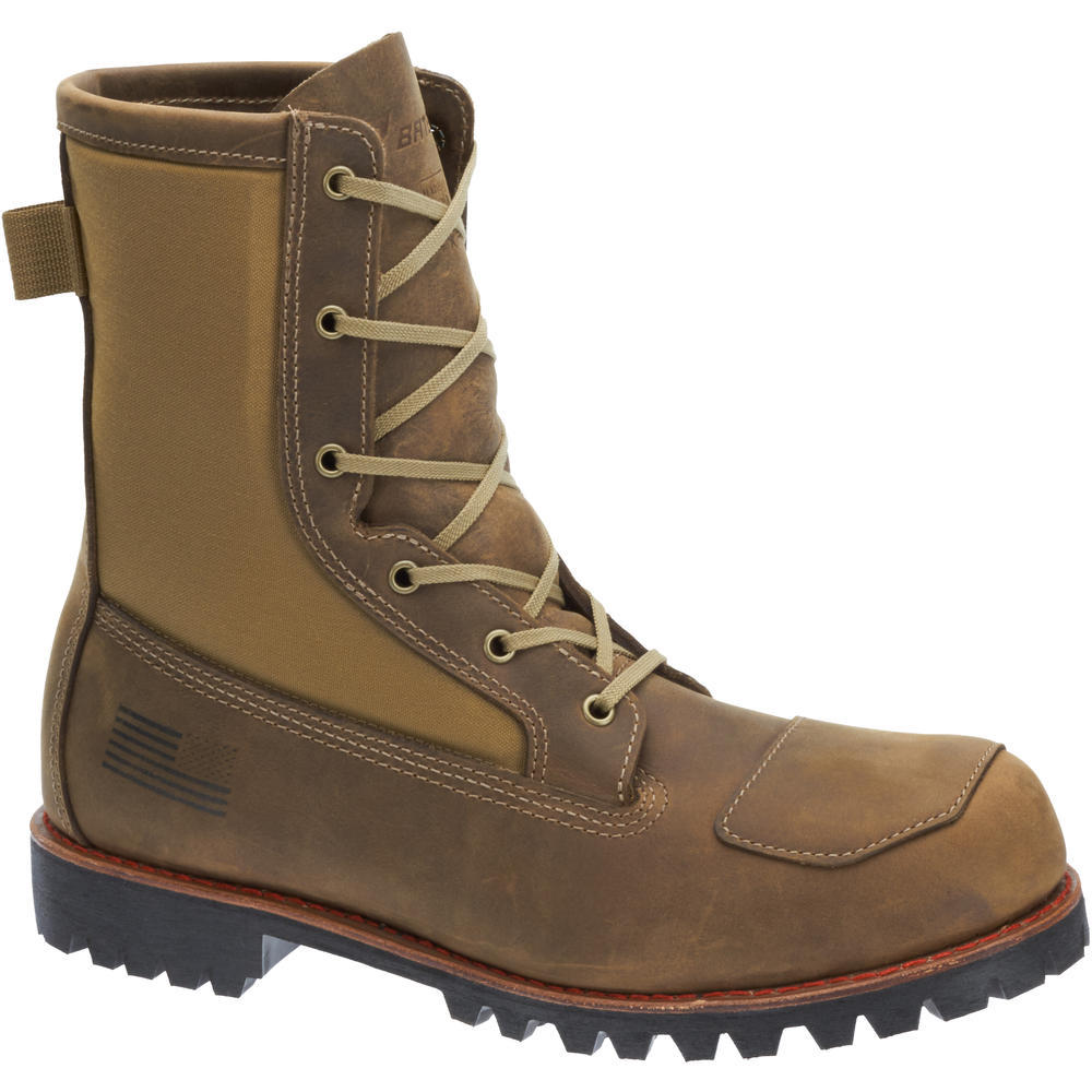 Bates Men's Bomber Water Resistant Leather Lace Up Work Boot