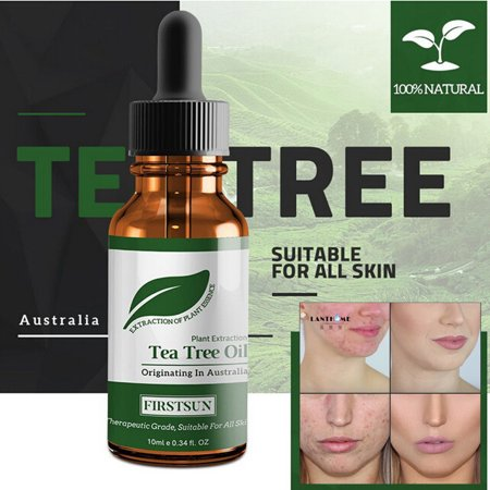 Tea Tree Essential Oil Anti-wrinkle Extract Acne Removal Scars Marks (Artistry Essentials Anti Blemish Acne Treatment Reviews)