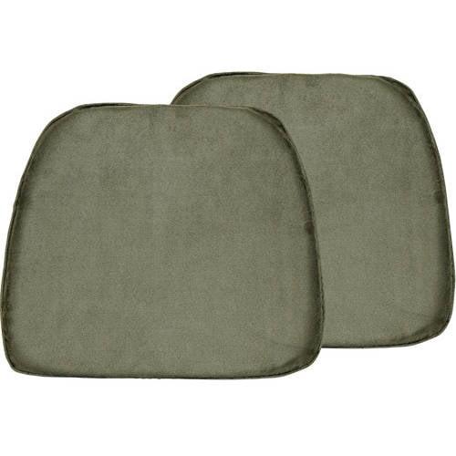 "Doeskin 17""x15"" Foam Chair Pad, Set of 2 by Generic"