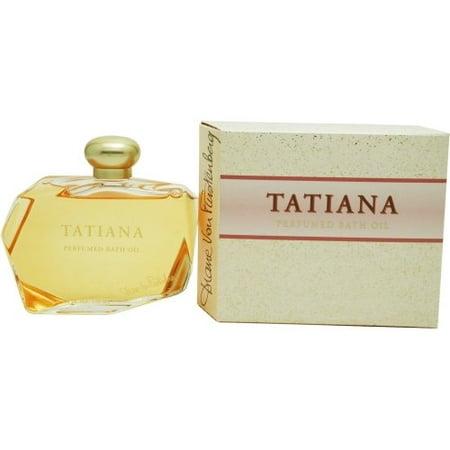 Tatiana Perfumed Bath Oil 4.0 Oz / 120 Ml