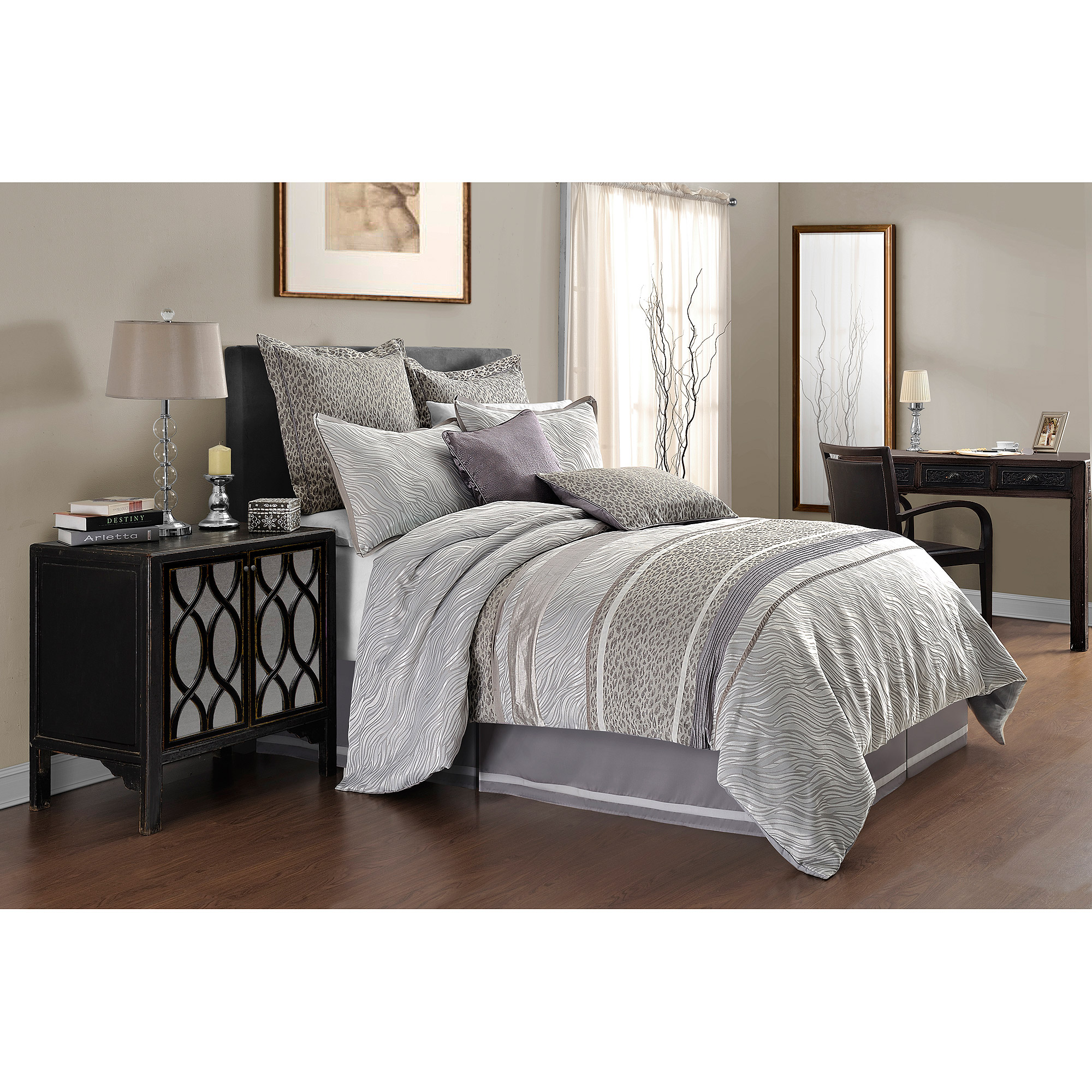 Image of Adorn Home Vienna 4-Piece Bedding Comforter Set