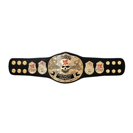 Official WWE Authentic  Smoking Skull Championship Mini Replica Title Belt (Skull Belt)
