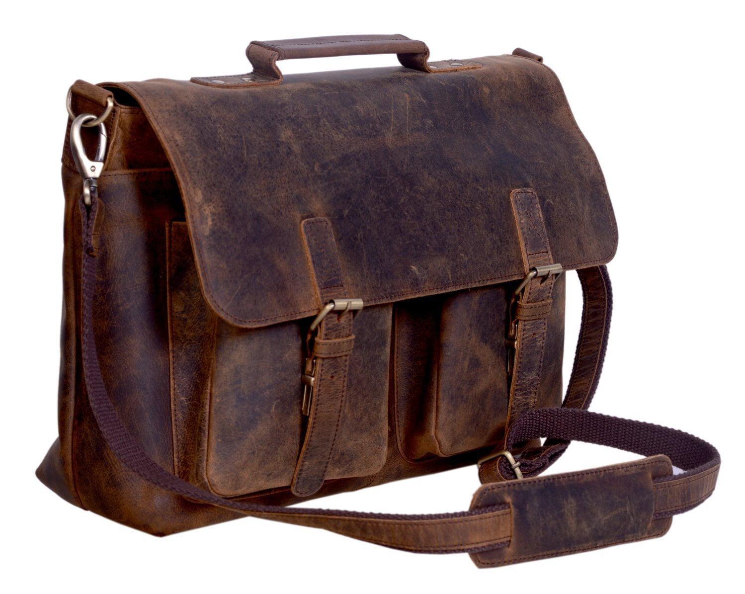 Komalc 18 Inch Buffalo Leather