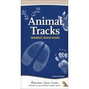 Adventure Quick Guides: Animal Tracks of the Midwest (Other)
