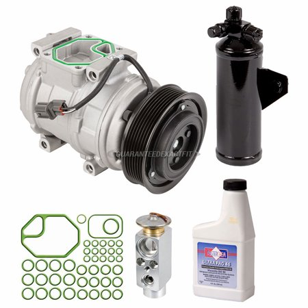 AC Compressor w/ A/C Repair Kit For Range Rover 1999-2002 Replaces (Range Rover Ac Compressor)