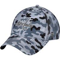 19008be35e1 Washington Capitals Fanatics Branded Urban Trucker Adjustable Hat - Camo Gray  - OSFA