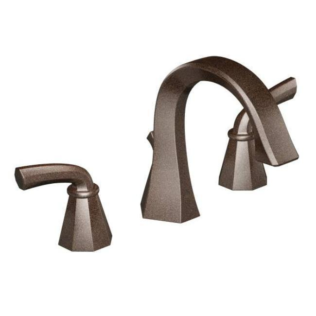 Moen Ts448orb Two Lever Handle 8 16 Center Oil Rubbed Bronze Bath