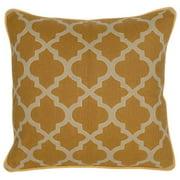 Kosas Home  Rachel Geo Mustard 20-inch Decorative Throw Pillow