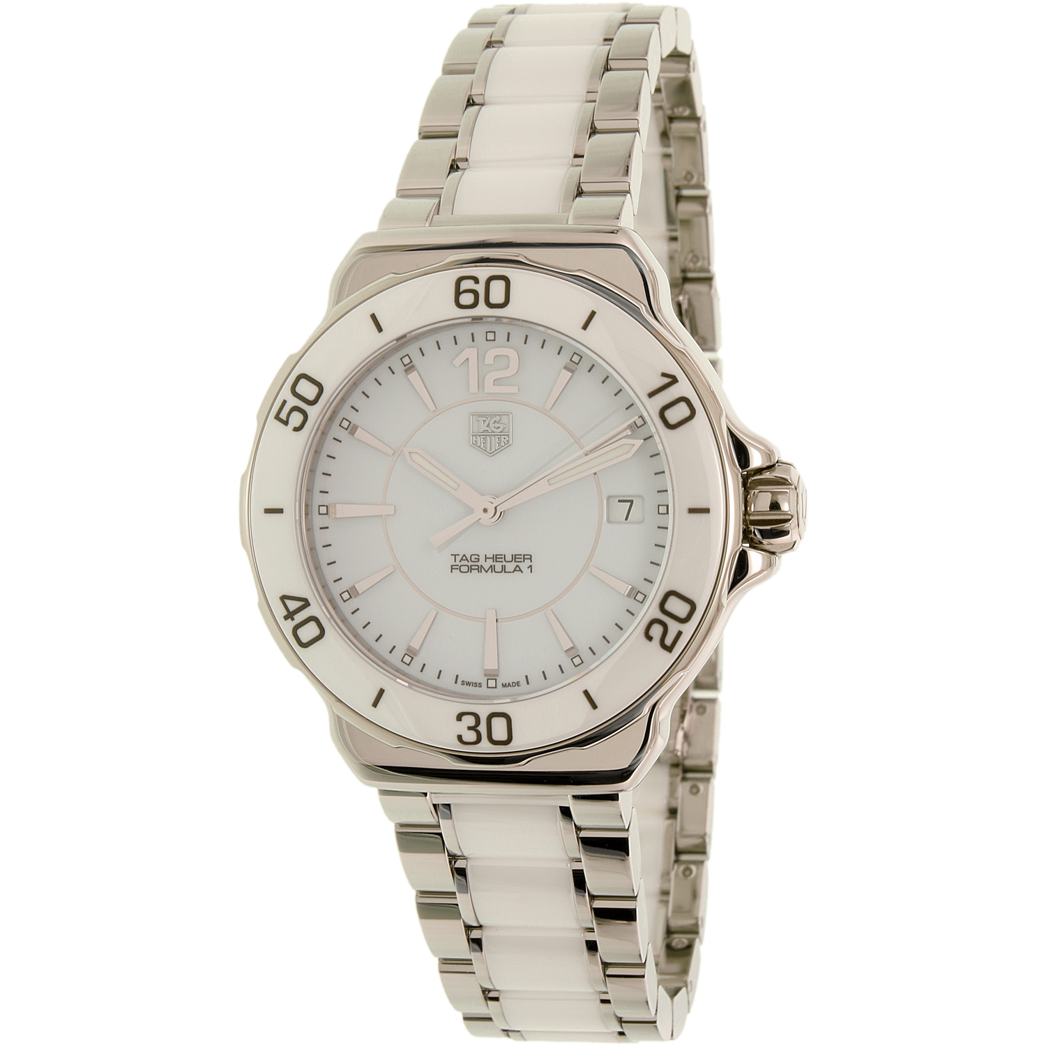 Tag Heuer Women's Formula One WAH1211.BA0861 Silver Stainless-Steel Swiss Quartz Watch