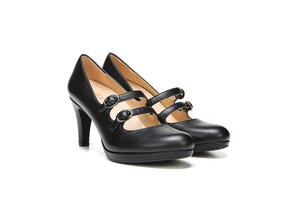ecf3780bbda7 Naturalizer Womens Prudence Fabric Closed Toe Mary Jane Pumps
