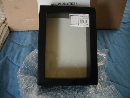 Click here to buy Shadowbox Frame 5x7 Black.