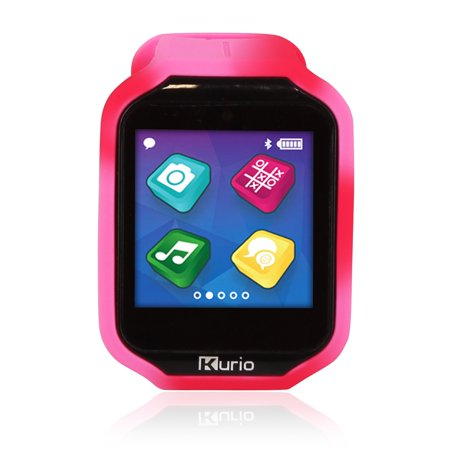 Watch 2.0+ Smartwatch Built for Kids with 2 Bands, Purple and Red/Pink Color - Halloween For Kids Witch