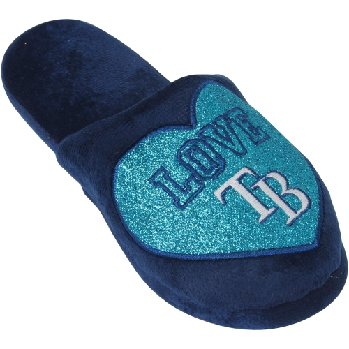 Tampa Bay Rays Women's Love Glitter Slide Slippers