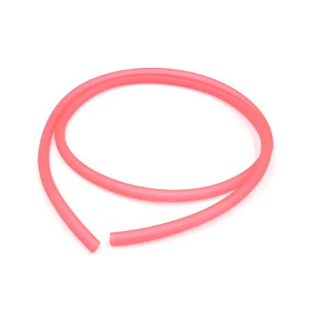 4Pcs Pink 4 5mm Inner Dia Silicone Oil Hose Fuel Petrol Tube