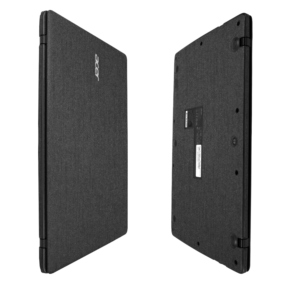 Skinomi Brushed Steel Skin for Acer Aspire One Cloudbook 14