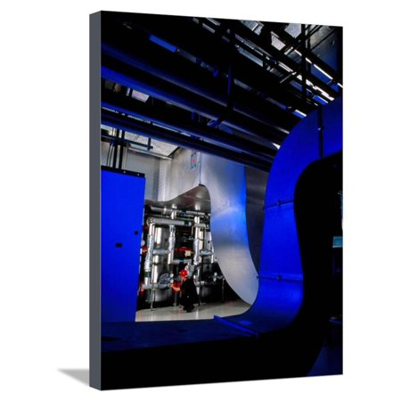 Air Conditioning Pipes. Stretched Canvas Print Wall Art By Tek Image Art Cool Air Conditioning
