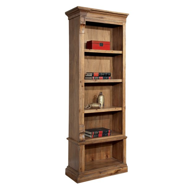 "Hekman 79306 Relaxed Classic Ceo 28"" Wide Wood Bookcase - Acacia"