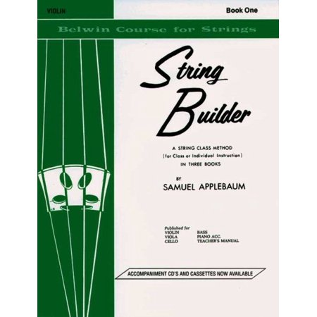 The Belwin String Builder (Belwin Student Instrumental Course)